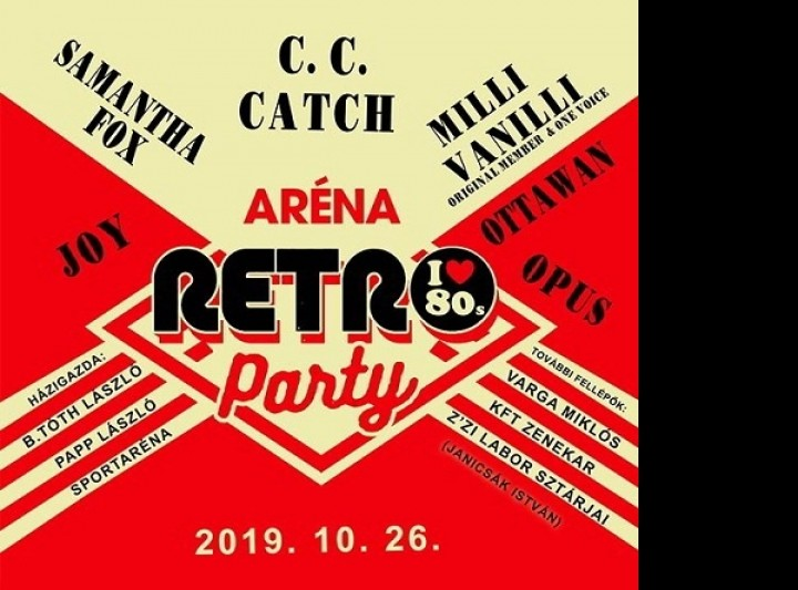 Aréna Retro Party 2019