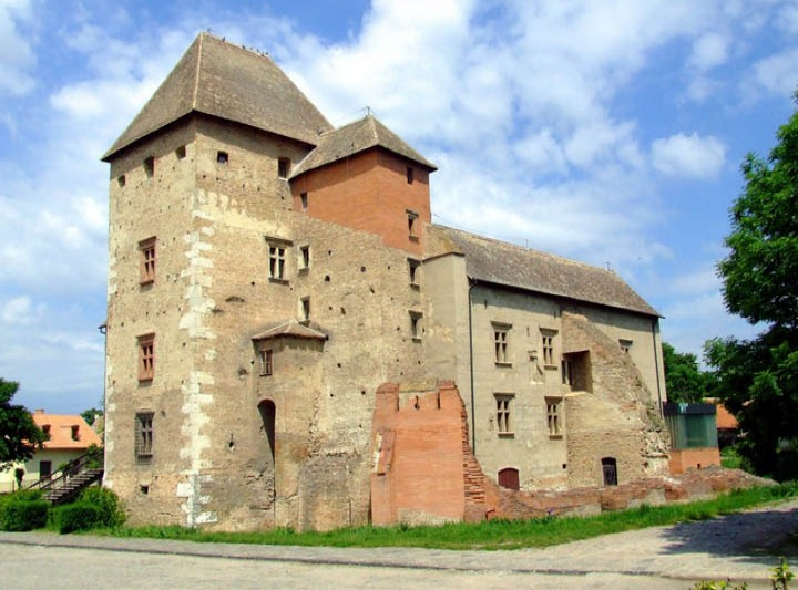 The Castle of Simontornya
