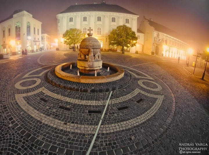 Orb and Town Hall Square